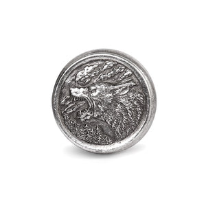 Hour of the Wolf Box - Antique Silver