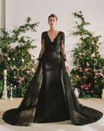 The Gothic Diva Black Wedding Dress
