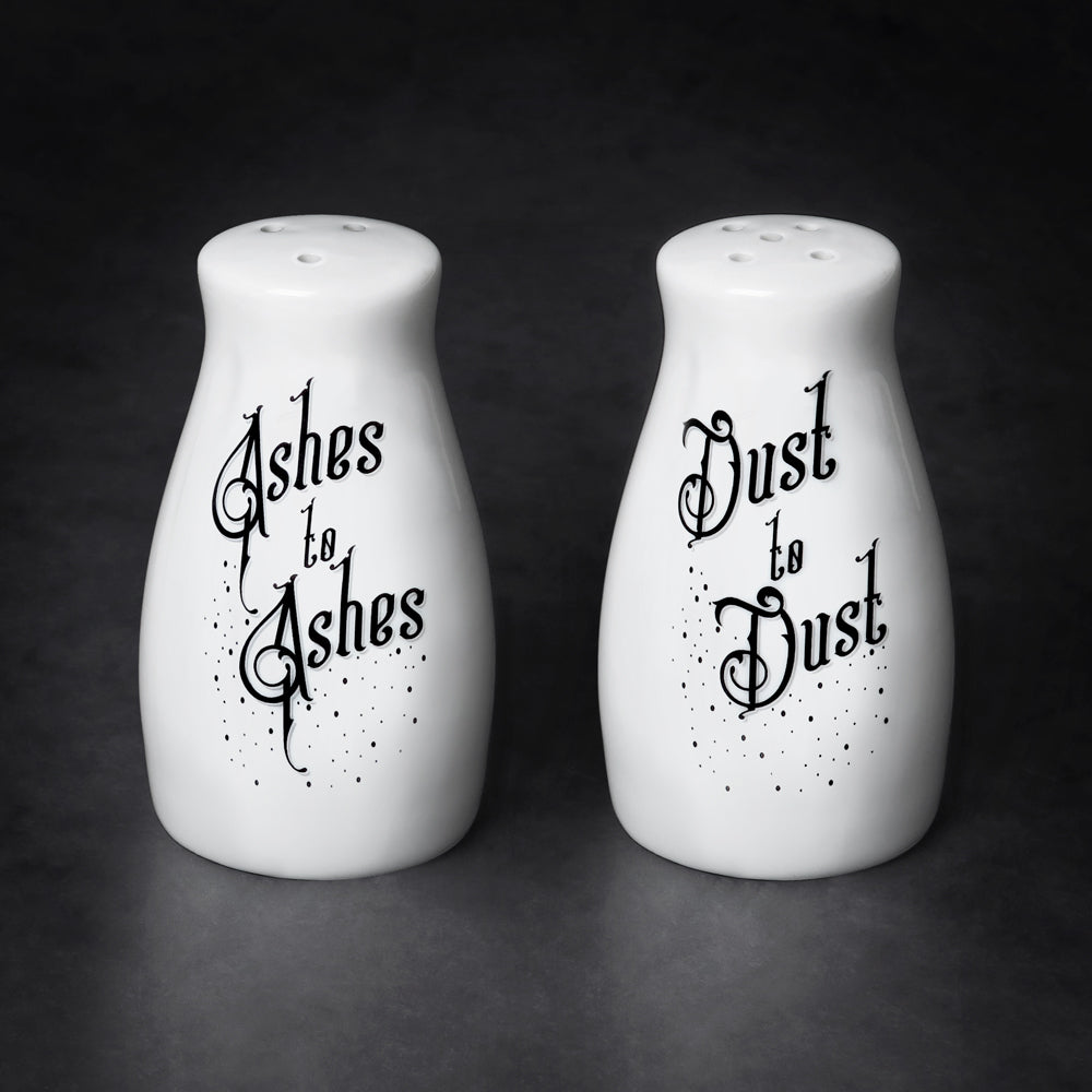 Ashes to Dust Salt & Pepper Set - Goth Mall