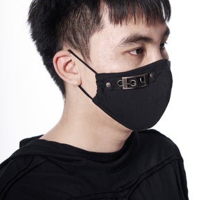Buckled Face Mask - Goth Mall