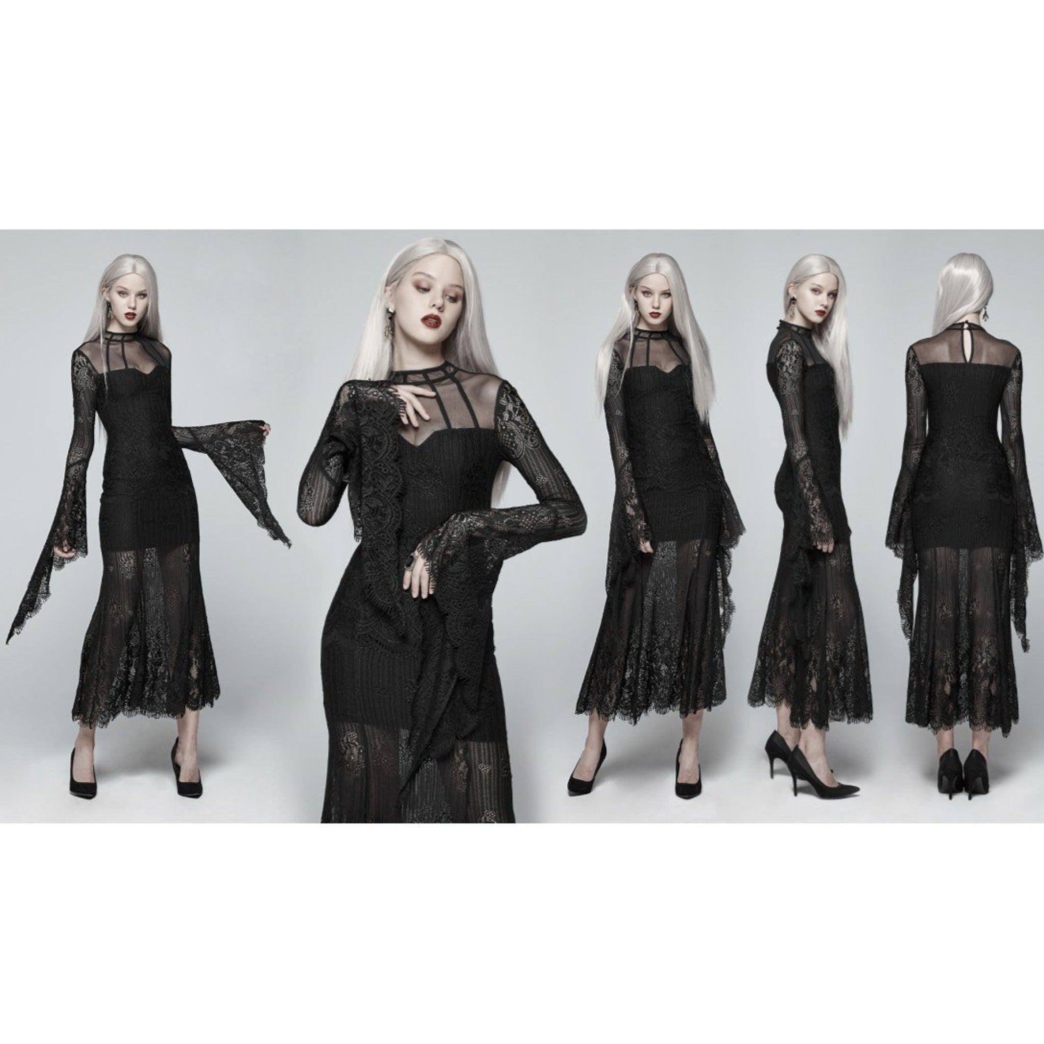 The Dignified Lania Dress - Goth Mall