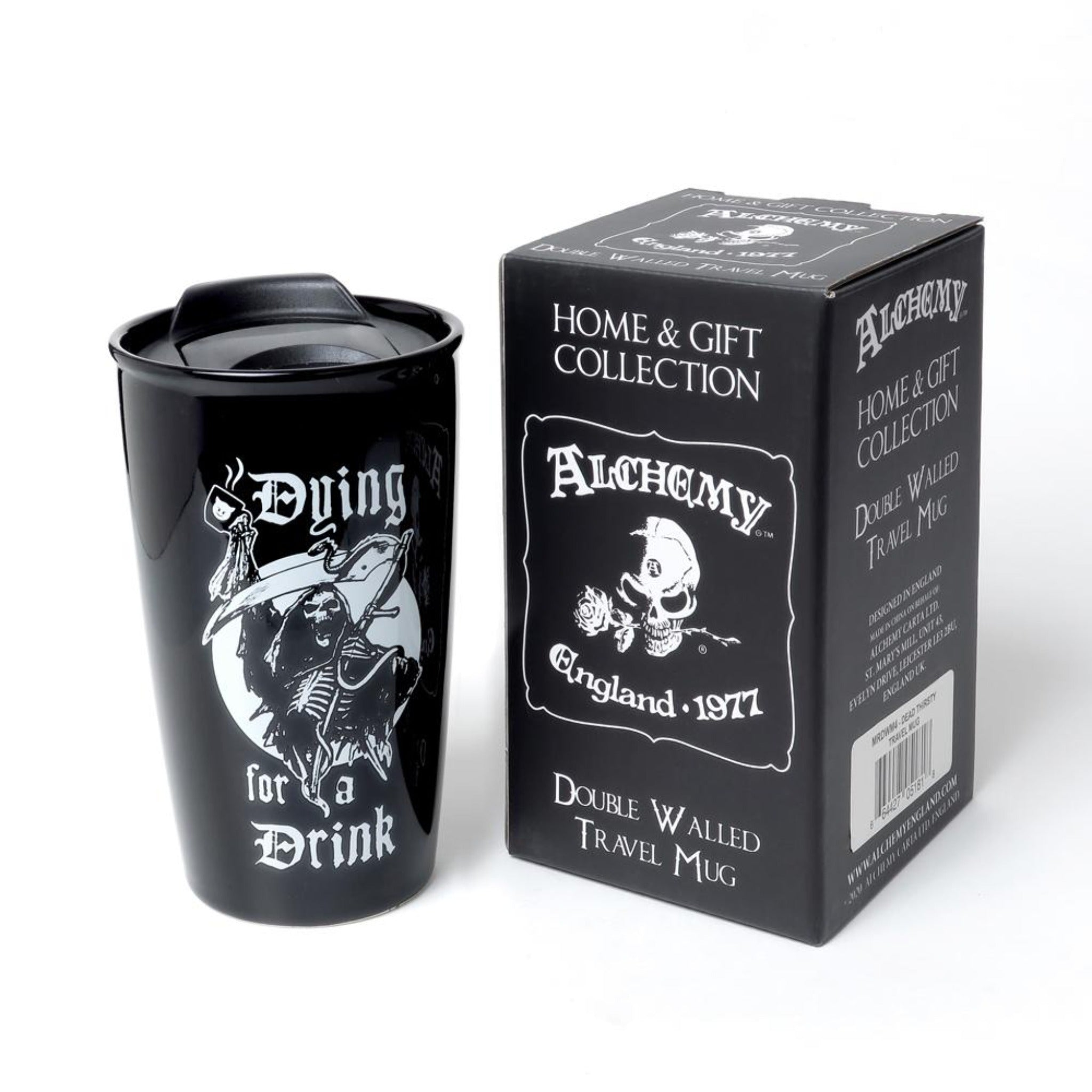 Dying For a Drink Travel Mug - Goth Mall