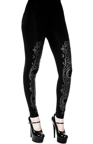 Baroque Crescent Leggings