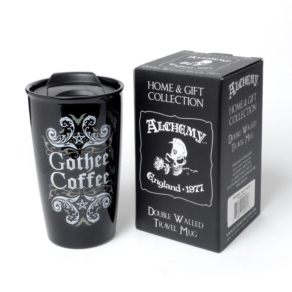 Gothee Coffee Travel Mug - Goth Mall