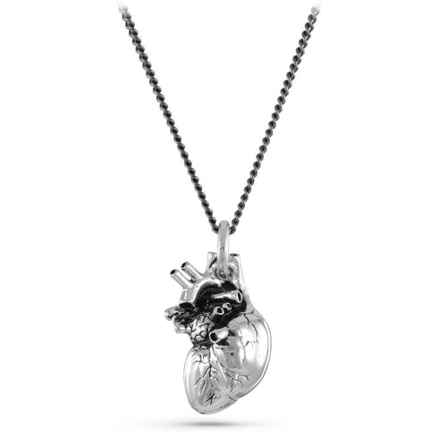 Anatomical Heart Necklace - Goth Mall