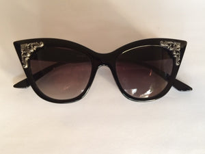 Kat's Eyes Sunglasses - Goth Mall