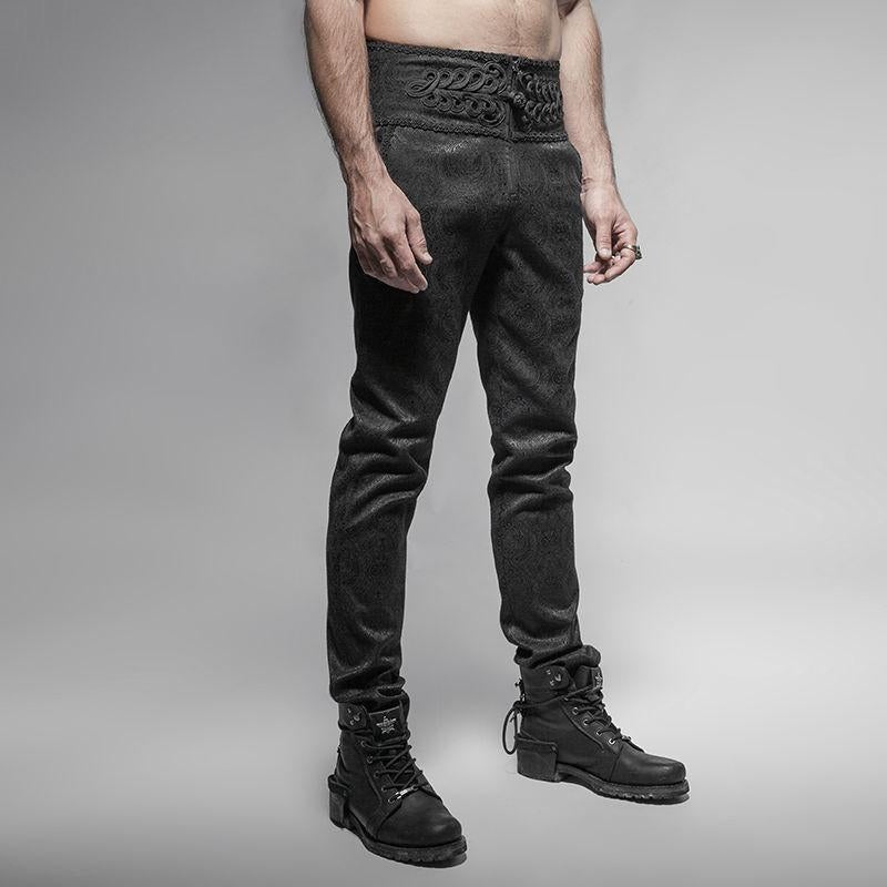 The Gothic Gentleman Trousers - Goth Mall