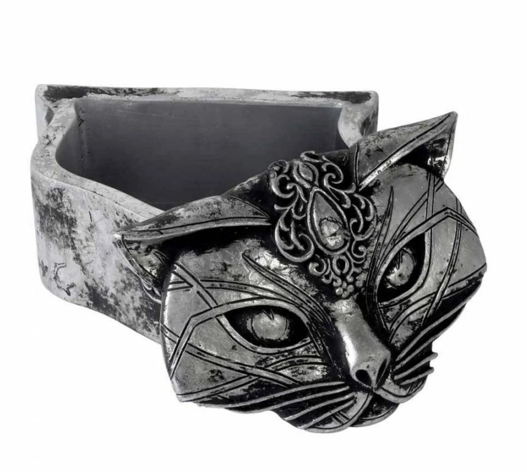 Sacred Cat Trinket Dish - Goth Mall