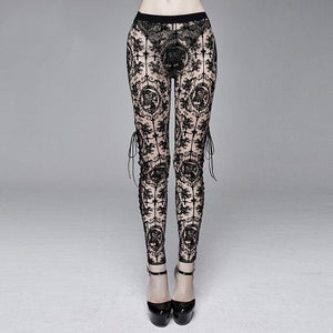 The Lace Cameo Leggings