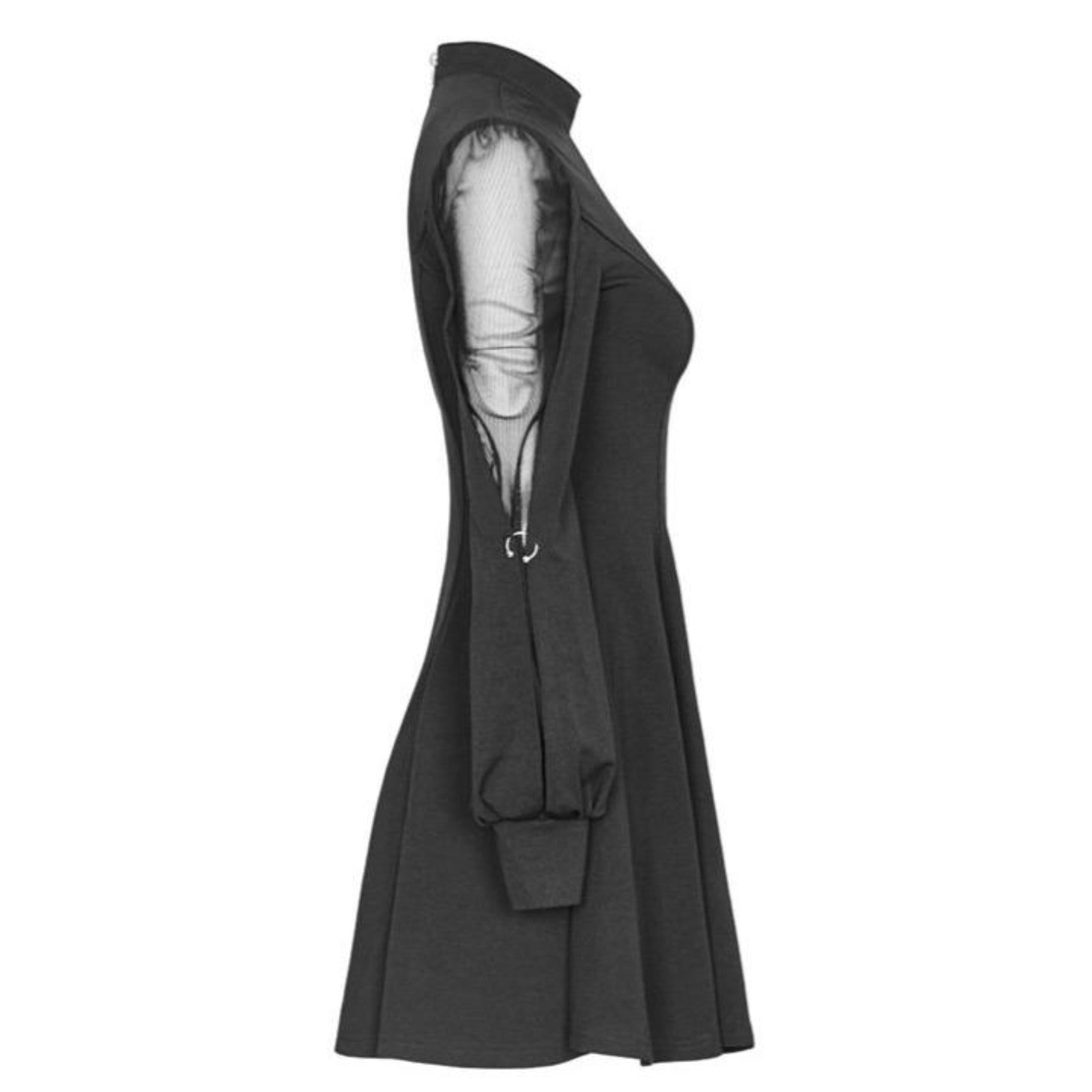Inverted Heart Dress - Goth Mall