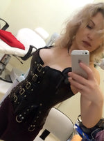 Gothic Corset Tops - Goth Mall