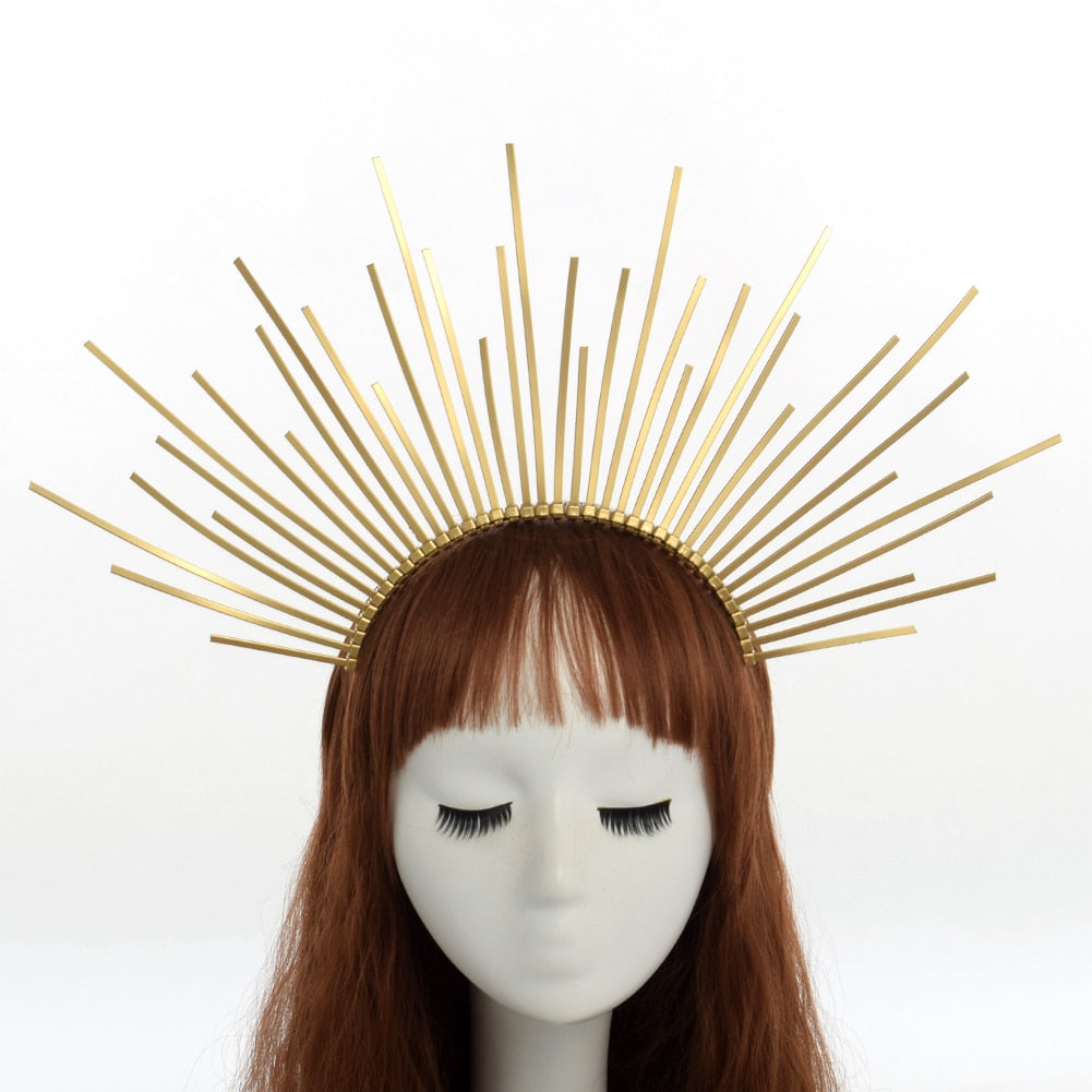 Halo Crown Headpieces - Goth Mall