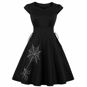 Sultry Spider Dress - Goth Mall