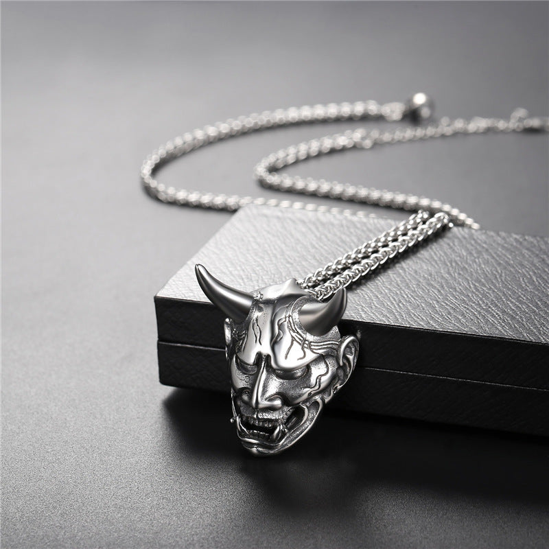 The Sympathy For The Devil Necklace - Goth Mall