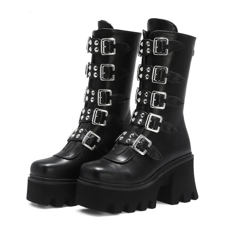Industrial Diva Boots