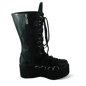 The Goth Stomper Boots - Goth Mall