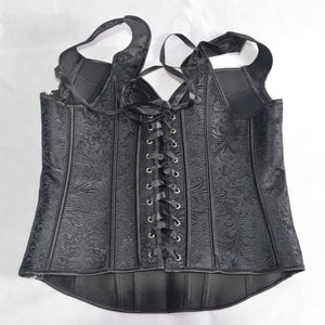 Gothic Vampire Corset Top - Goth Mall