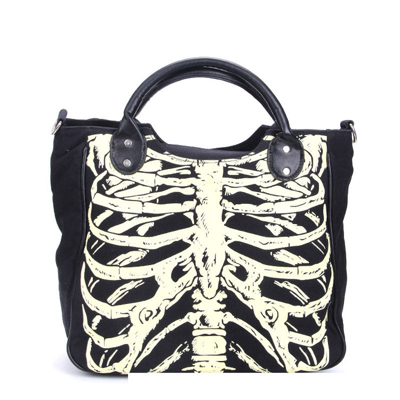 The Ribcage Shoulder Bag - Goth Mall