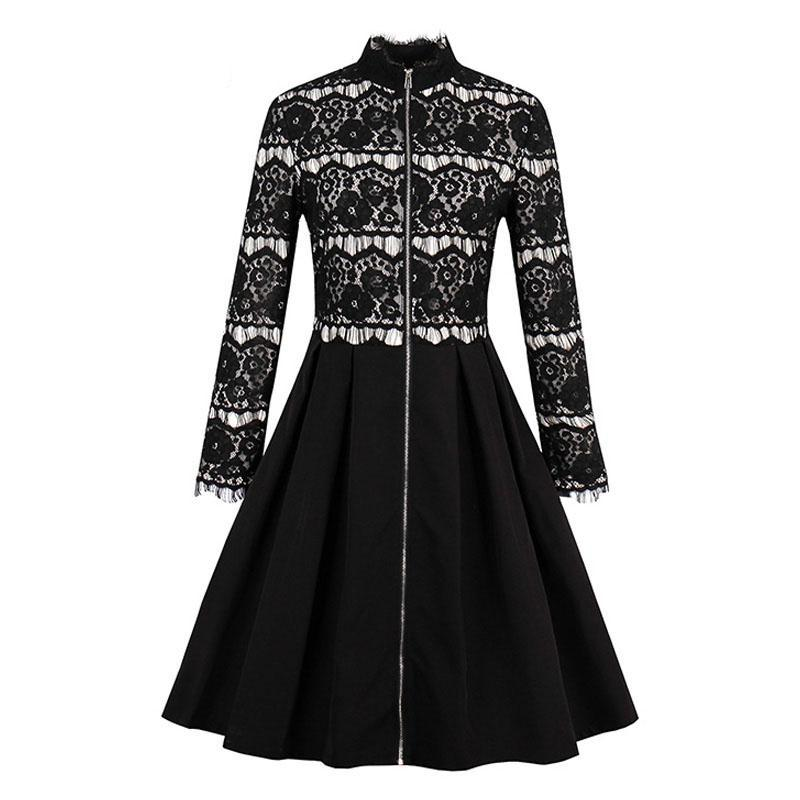 Gothic Hostess Dress - Goth Mall