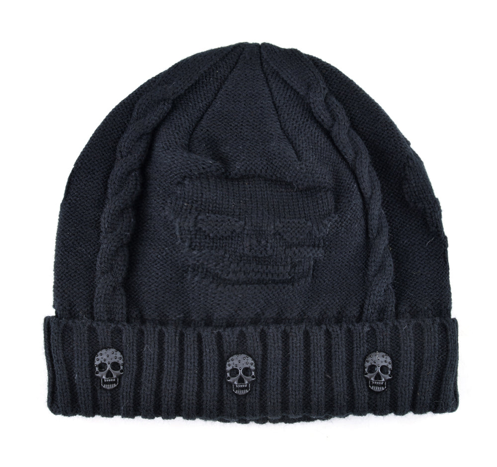 The Skull Beanie - Goth Mall