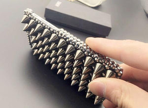 Metal Spiked Phone Case - iPhone - Goth Mall