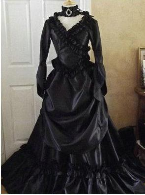 Victorian Gothic/Civil War Southern Belle Gown - Goth Mall