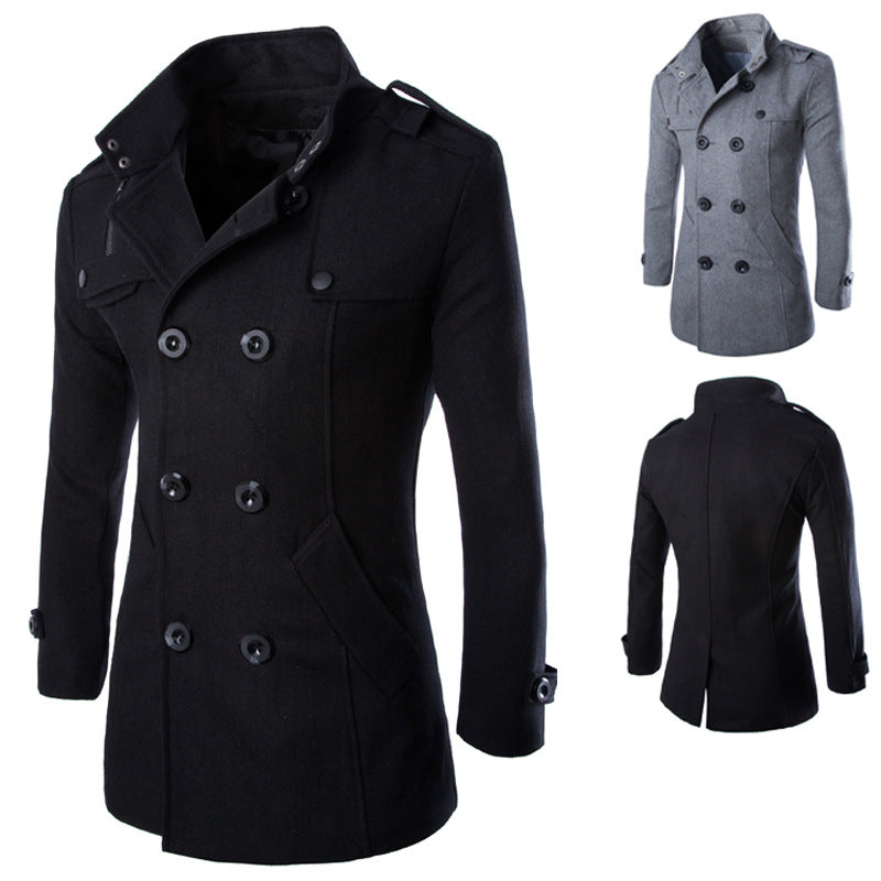 English Vampire Pea Coat - Goth Mall