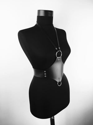 Fashion Harness Women Belt Harness Diva of natural leather and high-quality belt accessories