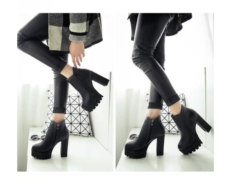 The Darkling Ankle Boots - Goth Mall
