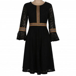 Vintage Peasant Dress