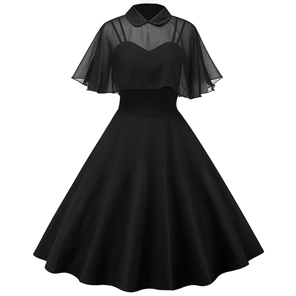 The Black Widow Dress - Goth Mall