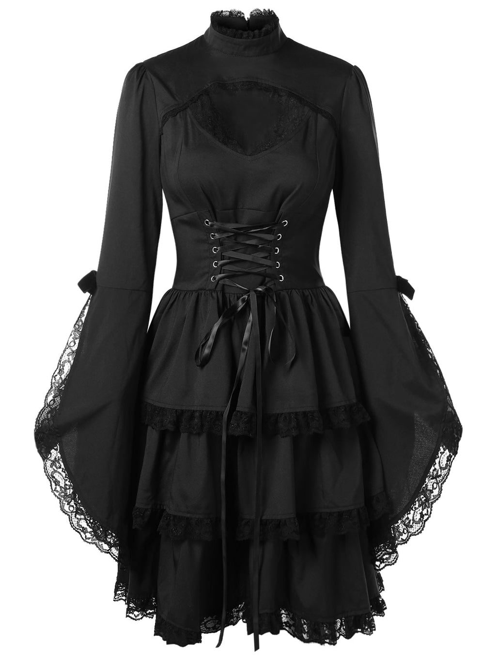 The Basic Witch Dress - Goth Mall