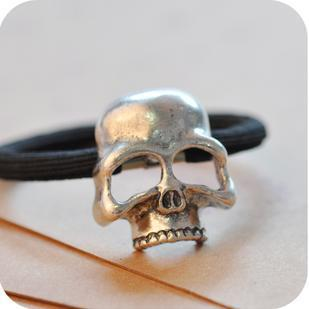Skull Hair Bands - Goth Mall