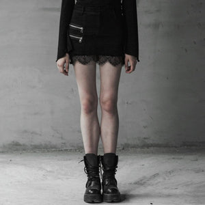 Rainy Evelyn Skirt - Goth Mall