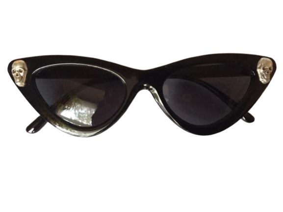 Skeleton Twins Sunglasses - Goth Mall