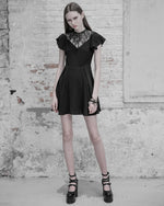The Black Twin Sin Dress - Goth Mall