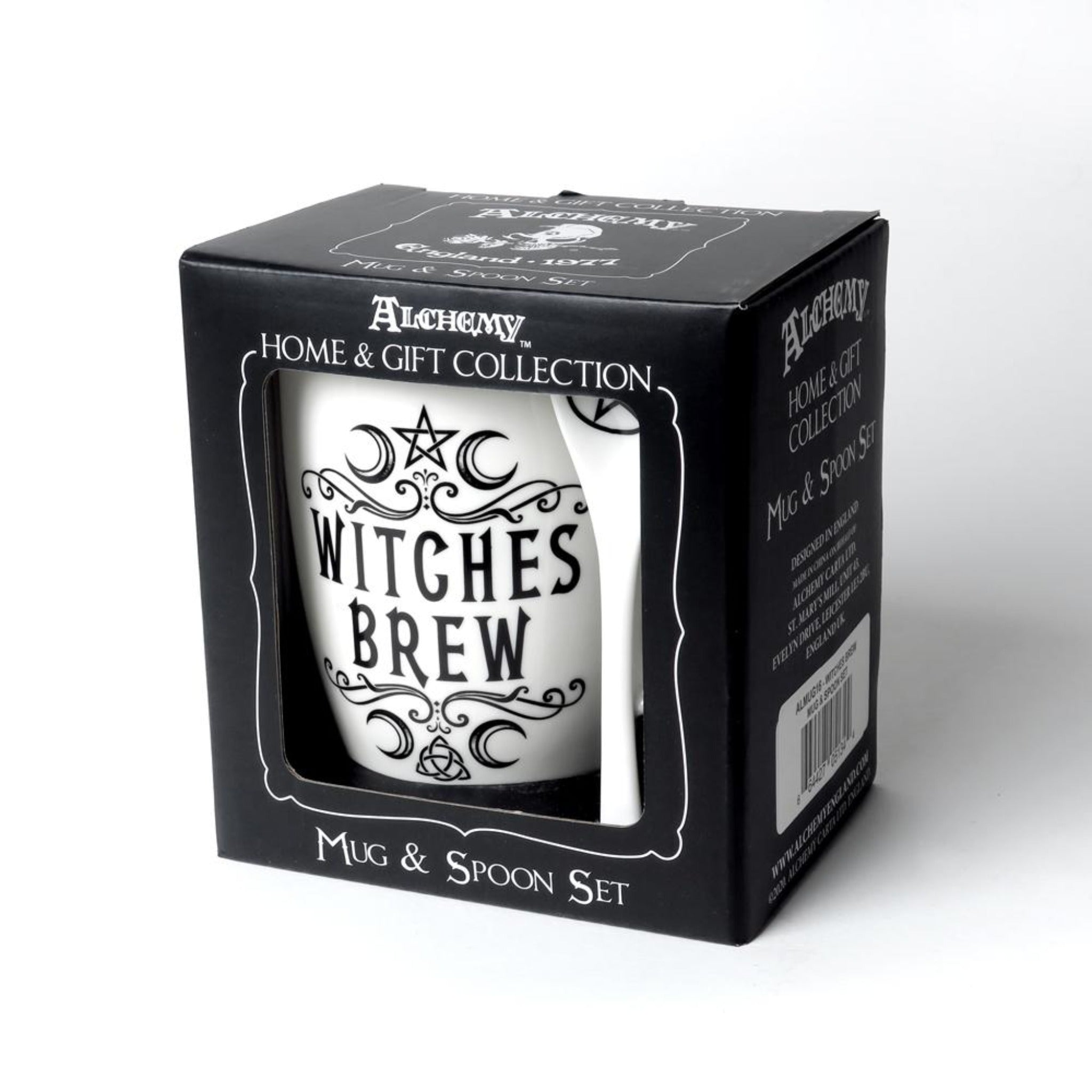 Witches Brew Mug & Spoon Set - Goth Mall