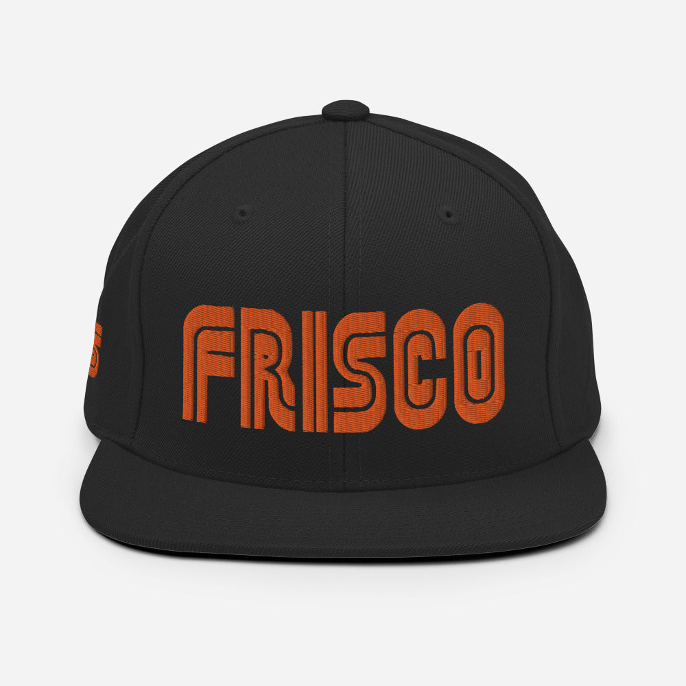 Frisco Municipal | PUFF Embroidered Snapback [Orange]