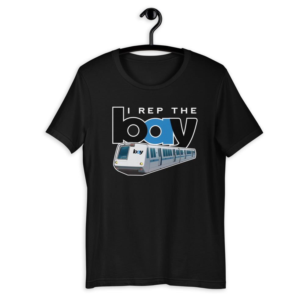 I Rep the Bay  | Short-Sleeve Unisex T-Shirt