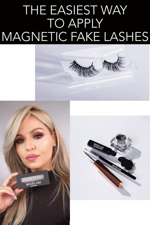 The Easiest Way to Apply Magnetic Eyelashes