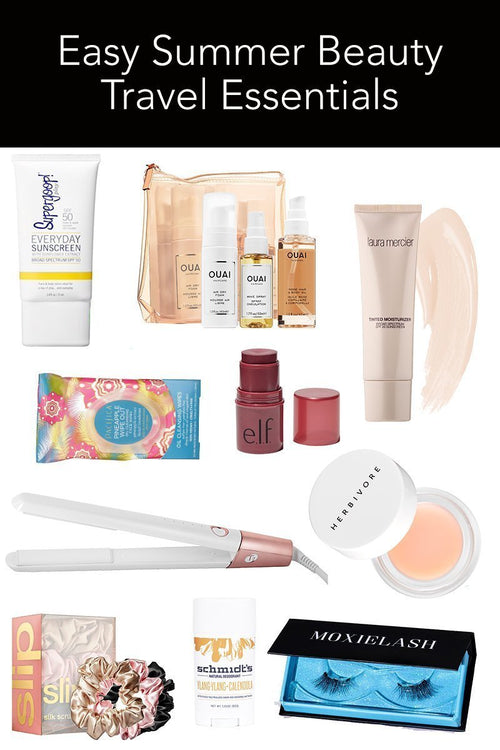Easy Summer Beauty Travel Essentials