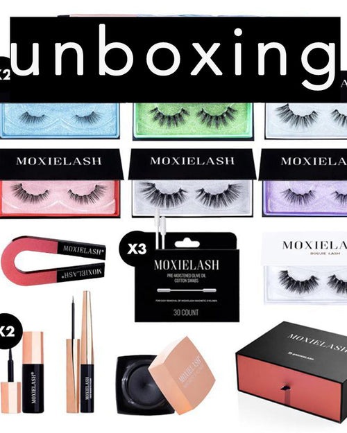 Unboxing MoxieLash MUA Kit!!