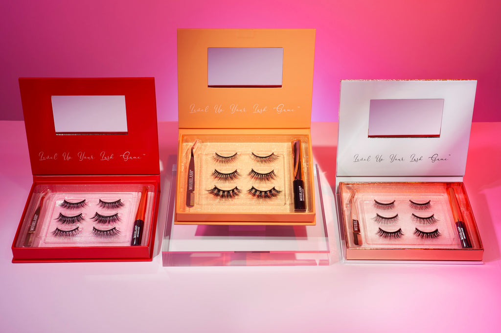 Here's how magnetic lashes give you the look of lash extensions in just minutes.