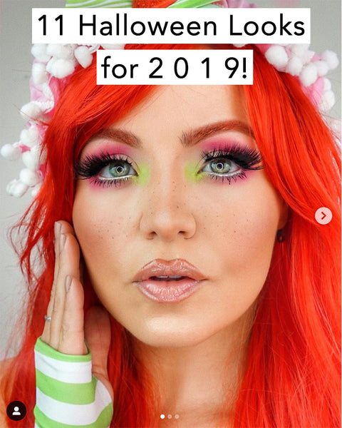 Check out these 11 gorgeous halloween makeup looks for 2019!