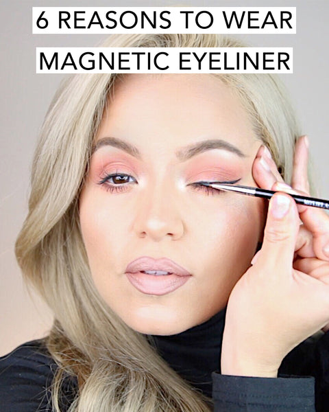 These are the 6 reasons why you should wear magnetic eyeliner today with MoxieLash!