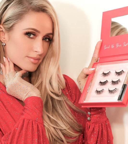 Check out the MoxieLash magnetic lashes that Paris Hilton is obsessed with! Get all the details on her glue-free, easy-on, lash styles.