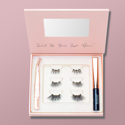 The perfect magnetic lash kit for those who like a gorgeous accent lash.