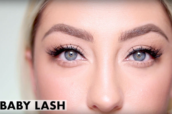 Unboxing the Natural lash kit and wearing the Baby Lash!