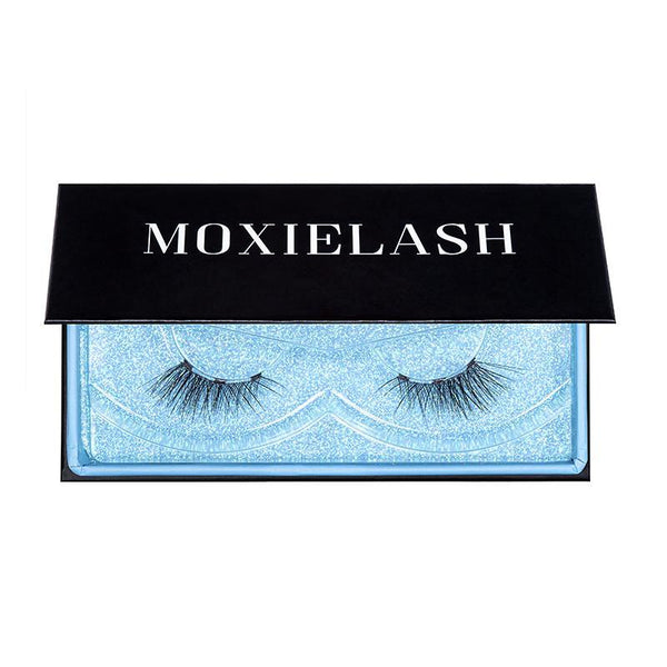 The baby lash is a stunning lash that is apart of the Natural Lash Kit from MoxieLash!
