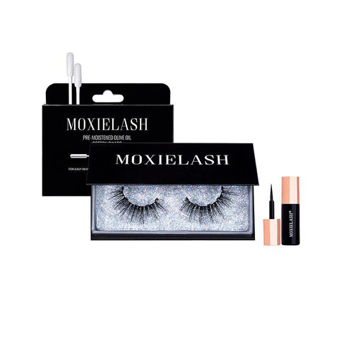 Get this super sassy and bold magnetic eyeliner and false eyelash system from MoxieLash!